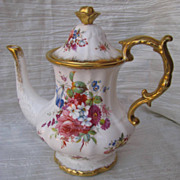 Hammersley Lady Patricia Bone China Coffee Pot