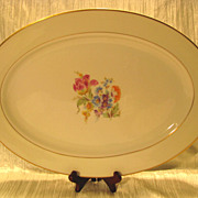 Royal Jackson Featherweight &quot;Glenda&quot; Oval Serving Platter