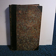 Rare 1874 Bound Volume The Saturday Review-London Covers from July 4, 1874 to December 26, 187