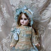 SOLD Fabulous French Bebe Costume Dress Hat for antique Jumeau Steiner doll
