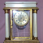 French Regulator 4 Pillar  Clock, 19th c.