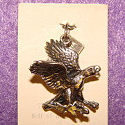 Awesome Vintage Bell Trading Post Sterling EAGLE Charm