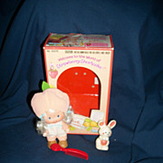 No. 43370 Strawberry Shortcake Apricot W/box Kenner Free Postage & Insurance