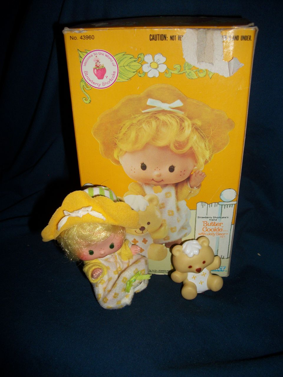 43960 Butter Cookie Kenner Strawberry Shortcake Doll US Buyer Free Postage & Insurance