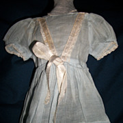 Baby Blue Organdy Dress for Alexander Toni Effanbee Dolls Free P&I US Buyers