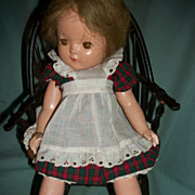 15&quot; Rare Effanbee Patricia Composition Doll HTF Free P&I US Buyers