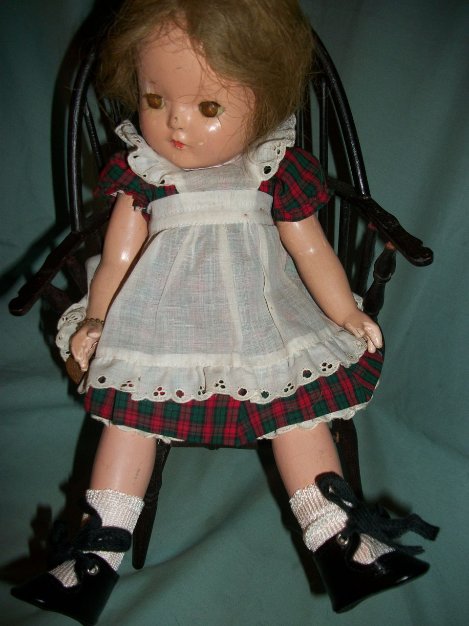 "15"" Rare Effanbee Patricia Composition Doll HTF Free P&I US Buyers"