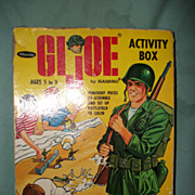 1965 GI Joe Activity Box Hasbro Punchout Pieces Booklet w/prices Free P&I US Buyers