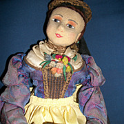 Exquisite Vintage Cloth German Munich Art Else Hecht  Doll Tea Cozy Free P&I US Buyers
