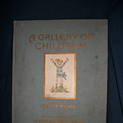A Gallery of Children A.A. Milne Illus Le Mair Free P&I US Buyers