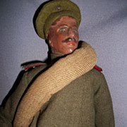 Vintage Rare Military Doll foreign Navy Free P&I US Buyers