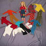 1971 Hasbro World of Love Doll & Lots of clothes Free P&I US Buyers