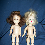 2 Nude BK Ginny Vogue Dolls Free P&I US BUYERS