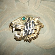 Awesome  Vintage Hattie Carnegie Bengal Tiger Brooch Free P&I US BUYER
