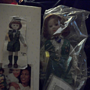 14&quot; Avon Redhead Girl Scout Doll MIB Free P&I