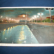 Vintage Panama Canal Post Card Gatun Locks free P&I