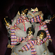 Lovely Vintage Korean Bradley Big Eye Dancing Girls Beautiful !Free  Postage and Insurance US