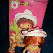 No. 44990 Cafe Ole' w/Burirtto Kenner Strawberry Shortcake Doll Box Free P&I