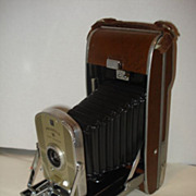 Vintage 1950's POLAROID Model 95 Land Camera, 541 Filter Kit, 201 Flash Gun with ...