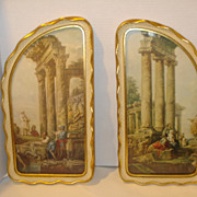 Vintage Andrew Kolb & Son FLORENTINE Prints & Picture Frames