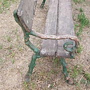 Old English Garden Bench