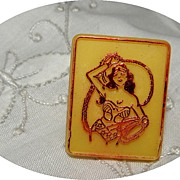 Vintage Walt Disney Productions Plastic Wonder Woman Ring