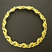 Authentic Carrera y Carrera 18K Gold Stallion Figural Bracelet