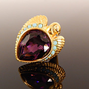 Elizabeth Taylor Egyptian Revival Ring, circa 1990s