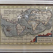 17th. cen. Map from Atlas