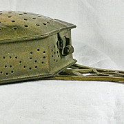 Victorian Brass Chestnut Roaster
