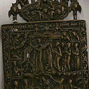 18th Century Bronze Icon