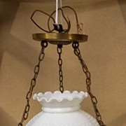 Lavery Hanging Light Fixture Glass
