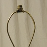 Brass Colored Lamp 20 1/2in Tall Metal