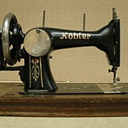 Kohler Sewing Machine Vintage Hand-Cranked