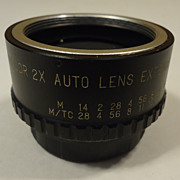 Kalcor 2X Auto Lens Extender for Pantex with Case Vintage - Metal Plastic