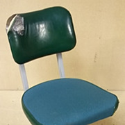 Office Task Vintage Chair Green 32in x 22in x 17in