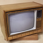 RCA GJR660T ColorTrak Television 25in Vintage