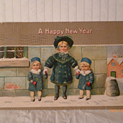 SALE Darling Children in Winter--