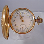 SOLD 1899 Elgin 18 Size Pocket Watch with Fancy Dial