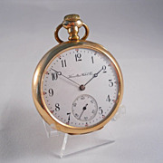 1904 Hamilton 16 Size Grade 974 Pocket Watch in Gold Filled Case