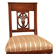 SOLD Miniature French Provencal Chaise (Chair)