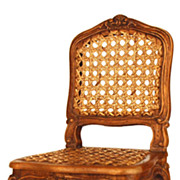 SOLD Miniature Louis XV Style French Fauteuil (Chair)