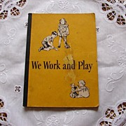 "1940 ""We Work and Play"" by Scott, Foresman and Company"
