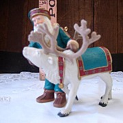 Hallmark Keepsake Ornament Santa's Deer Friend