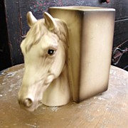 Lefton's Porcelain Horse Head Planter Japan