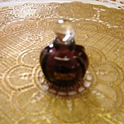 Purple Poison/Perfume Bottle Christian Dior  Paris w/glass stopper