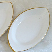 SALE Set of Four Exquisite Noritake Bone China Candy Nut Dishes