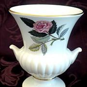 SALE Small Wedgwood Bone China Vase