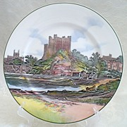SALE Royal Doulton Rochester Castle Series Plate 1908 - D6308