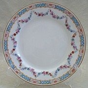 SALE Mintons Small Luncheon Plate with Floral Swag - English Porcelain